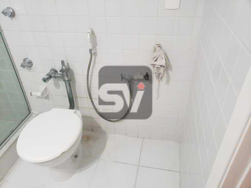 Banheiro social - Copacabana. 1 Quarto. Varanda. Reformado. - SVAP10060 - 9