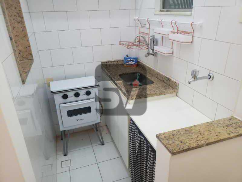 Cozinha - Copacabana. 1 Quarto. Varanda. Reformado. - SVAP10060 - 11