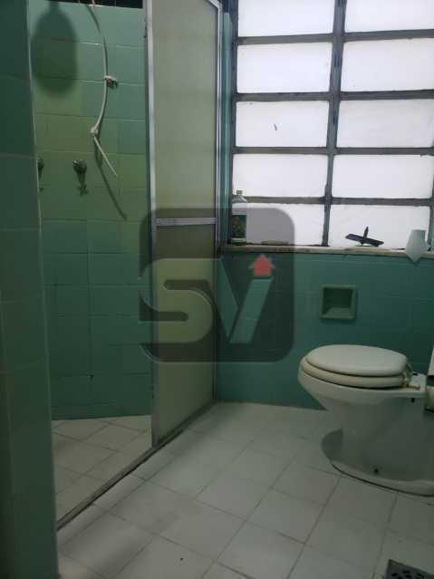 Banheiro social - Laranjeiras. 2 Quartos. Varanda. Terraço - SVAP20098 - 11