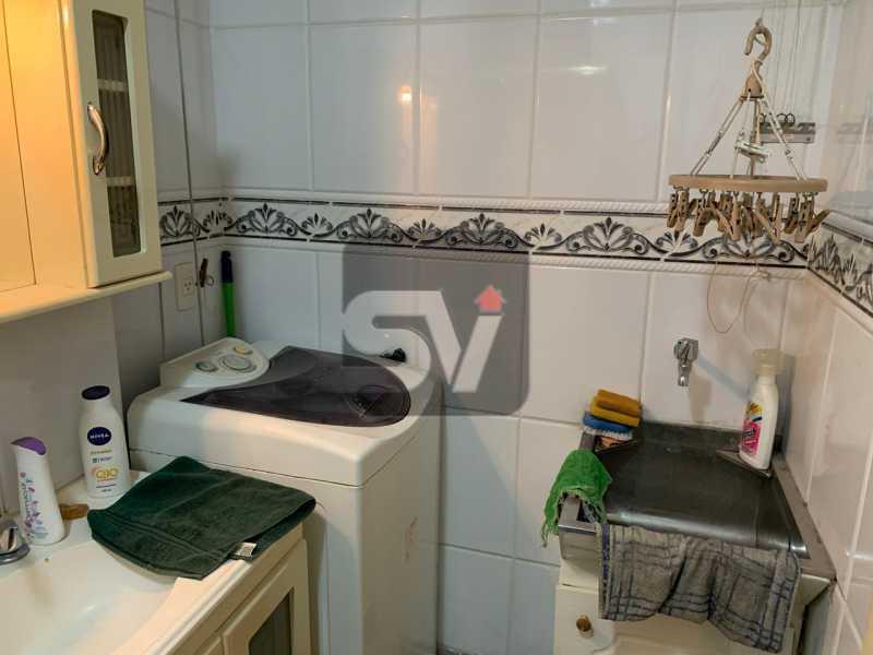 Banheiro social - Flamengo. Andar Alto. 1 Quarto - SVAP10064 - 6