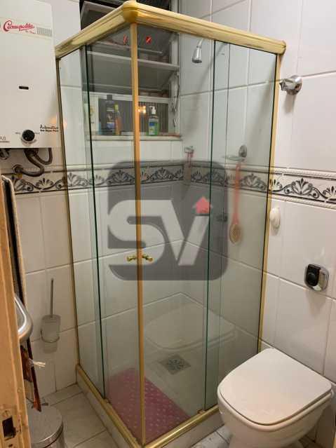 Banheiro social - Flamengo. Andar Alto. 1 Quarto - SVAP10064 - 7