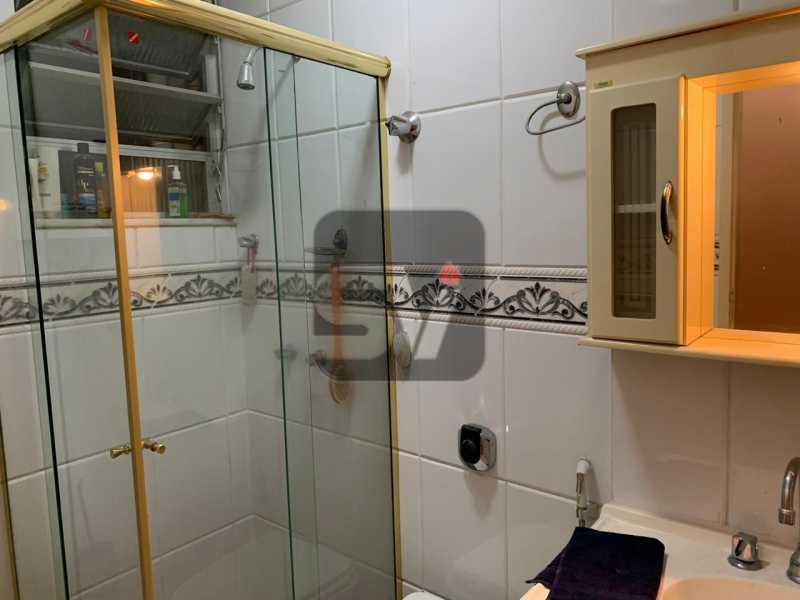 Banheiro social - Flamengo. Andar Alto. 1 Quarto - SVAP10064 - 8