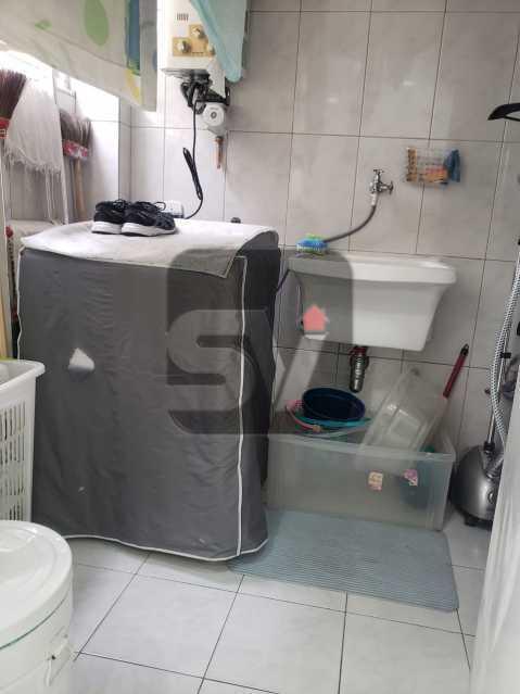 Área de serviço - Flamengo. 2 quartos (1 suíte com closet). Vaga. Andar Alto - SVAP20102 - 19