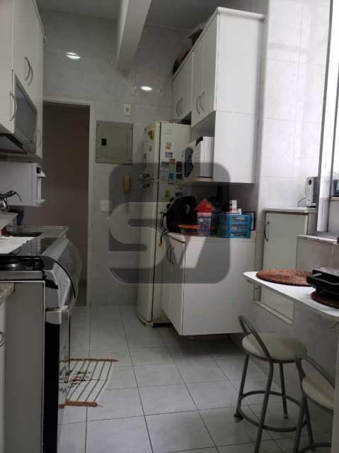 Cozinha - Flamengo. 2 quartos (1 suíte com closet). Vaga. Andar Alto - SVAP20102 - 17
