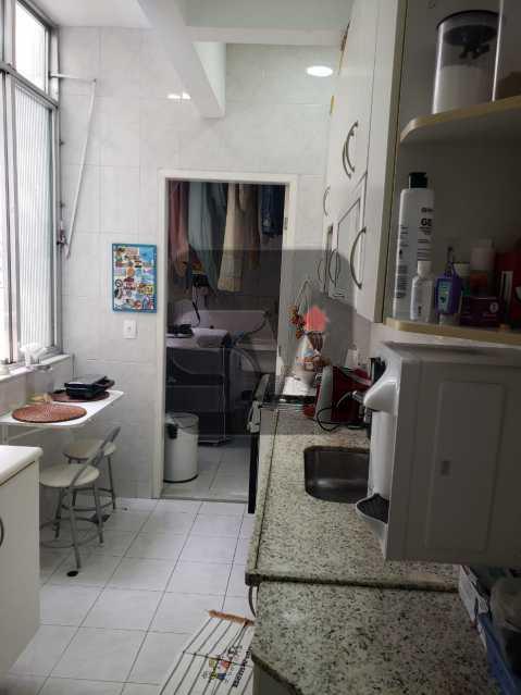 Cozinha - Flamengo. 2 quartos (1 suíte com closet). Vaga. Andar Alto - SVAP20102 - 18