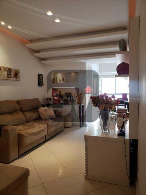 Sala - Flamengo. 2 quartos (1 suíte com closet). Vaga. Andar Alto - SVAP20102 - 4