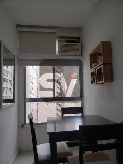 Jardim de inverno/Sala - Flamengo. 2 quartos (1 suíte com closet). Vaga. Andar Alto - SVAP20102 - 6