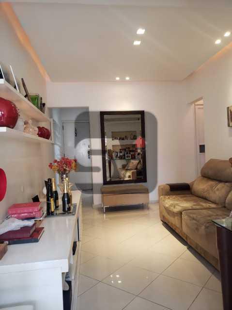 Sala - Flamengo. 2 quartos (1 suíte com closet). Vaga. Andar Alto - SVAP20102 - 1