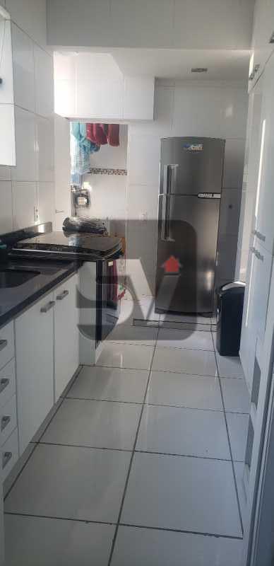 Cozinha - Mobiliado. Reformado. 2 quartos. Botafogo. Vista. Varanda. - SVAP20108 - 20