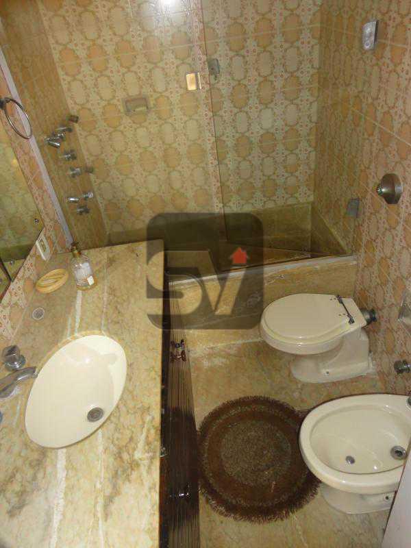 Banheiro Suíte 1 - Ponto nobre. Vaga. Flamengo. 4 quartos. - VIAP40010 - 7