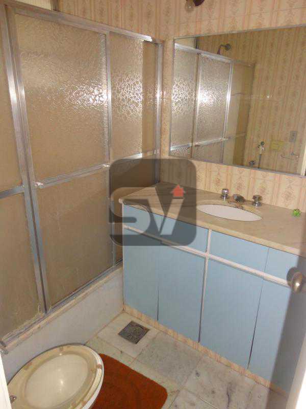 Banheiro Suíte 4 - Ponto nobre. Vaga. Flamengo. 4 quartos. - VIAP40010 - 9