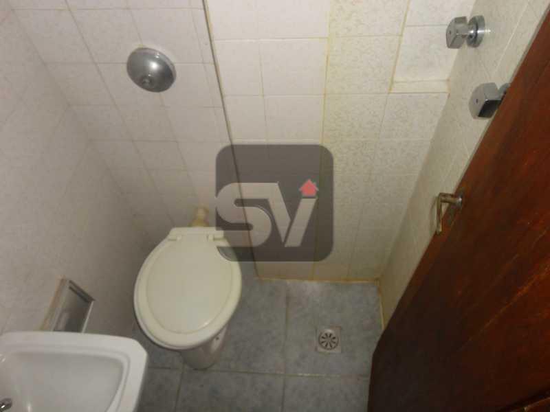 Banheiro de Serviço - Ponto nobre. Vaga. Flamengo. 4 quartos. - VIAP40010 - 16