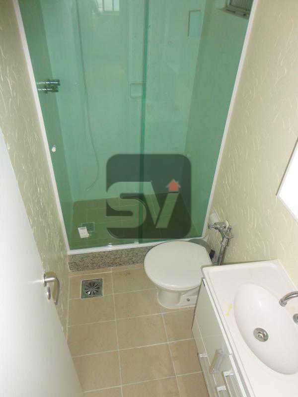 Banheiro  - Excelente conjugado, amplo, apartamento moderno e espaçoso - VIKI00020 - 6