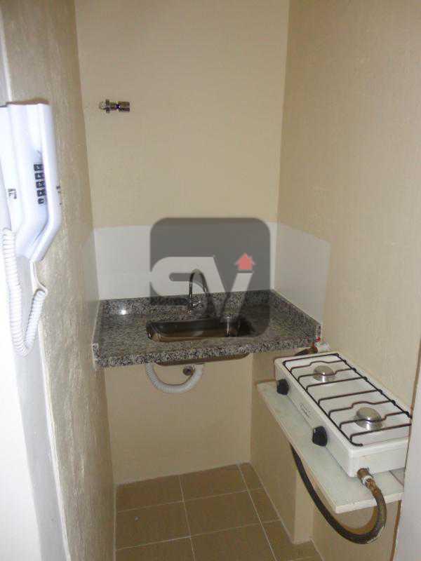 Cozinha - Excelente conjugado, amplo, apartamento moderno e espaçoso - VIKI00020 - 8