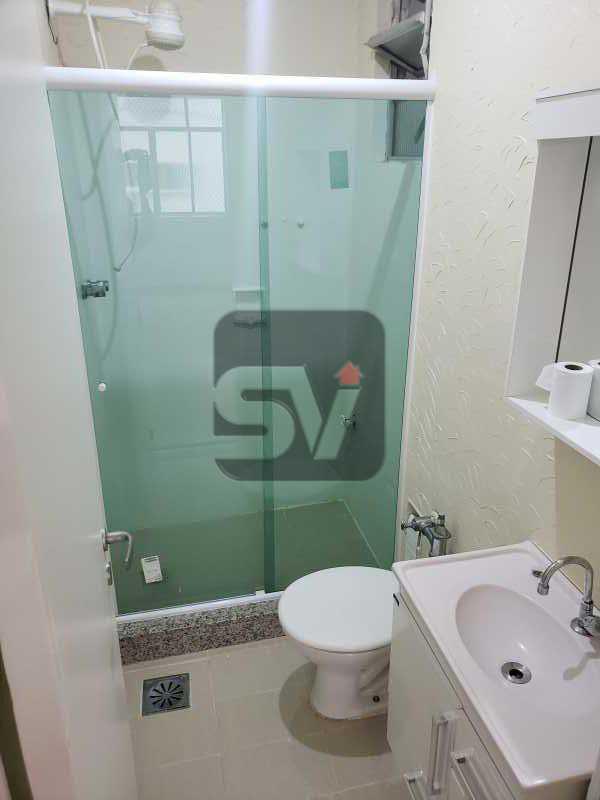 Banheiro  - Excelente conjugado, amplo, apartamento moderno e espaçoso - VIKI00020 - 5