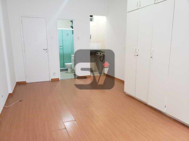 Sala/Quarto - Excelente conjugado, amplo, apartamento moderno e espaçoso - VIKI00020 - 3