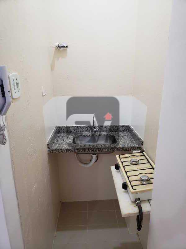 Cozinha - Excelente conjugado, amplo, apartamento moderno e espaçoso - VIKI00020 - 9