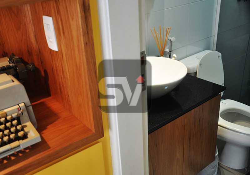 corredor - Apartamento 1 quarto para alugar Rio de Janeiro,RJ - R$ 2.300 - VIAP10087 - 6