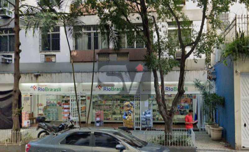 Frente - Lojão de Rua.Flamengo. Frente. Reformada. Loja Deck 144m². SEM CONDOMÍNIO - VILJ00004 - 1