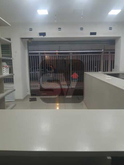 Loja - Lojão de Rua.Flamengo. Frente. Reformada. Loja Deck 144m². SEM CONDOMÍNIO - VILJ00004 - 6