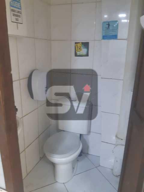 Banheiro 2 - Lojão de Rua.Flamengo. Frente. Reformada. Loja Deck 144m². SEM CONDOMÍNIO - VILJ00004 - 11