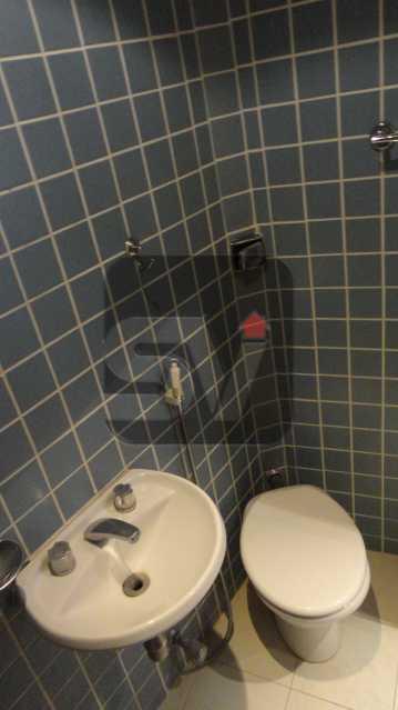 Banheiro de serviço - Apartamento 3 quartos para alugar Rio de Janeiro,RJ - R$ 8.000 - VIAP30152 - 20