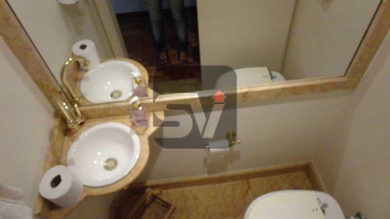 Lavabo - Apartamento 3 quartos para alugar Rio de Janeiro,RJ - R$ 8.000 - VIAP30152 - 6