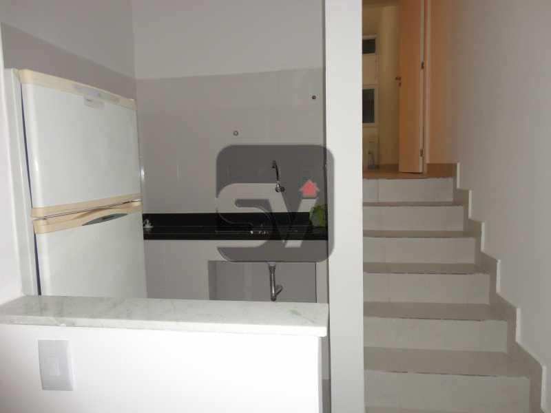 Cozinha Americana - Apartamento Rua da Lapa,Rio de Janeiro,zona sul,Centro,RJ À Venda,1 Quarto,40m² - VIAP10106 - 4