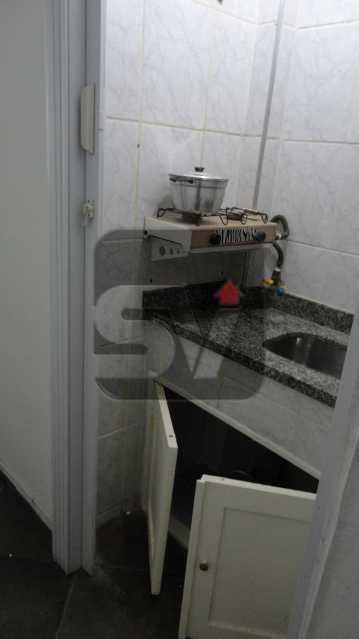 Cozinha - Conjugado. Botafogo. Silencioso. Bem dividido. IPTU 2020 ISENTO - VIKI00031 - 6