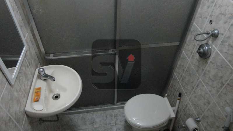Banheiro  - Conjugado. Botafogo. Silencioso. Bem dividido. IPTU 2020 ISENTO - VIKI00031 - 4