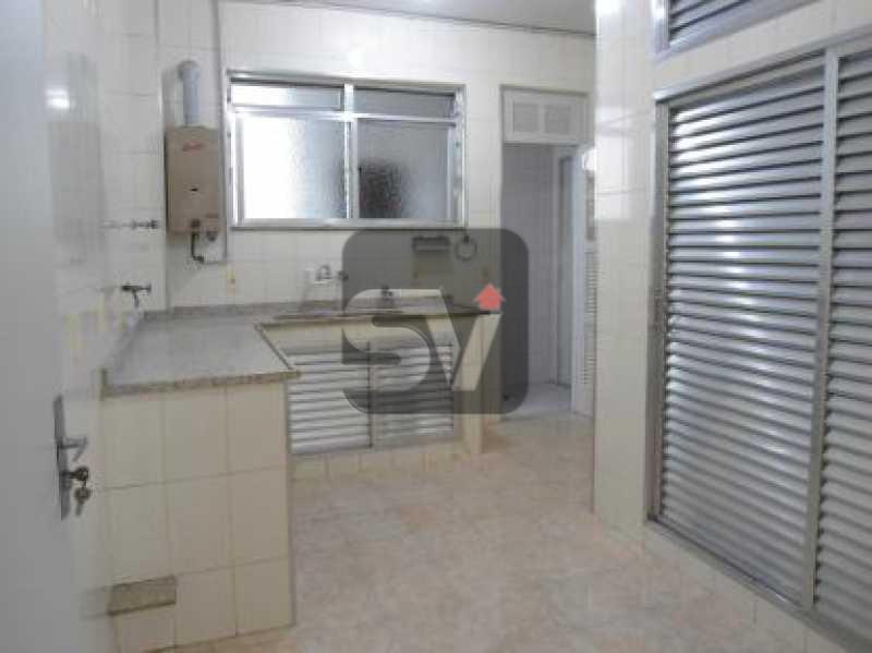 Cozinha - Quadra da praia. Excelente localização. Silencioso. Vaga. Ipanema. 3 quartos (1 suíte) - VIAP30195 - 11