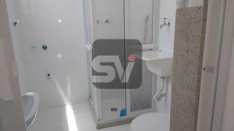 BANHEIRO - Apartamento Rio de Janeiro,zona sul,Centro,RJ À Venda,1 Quarto,42m² - VIAP10134 - 10