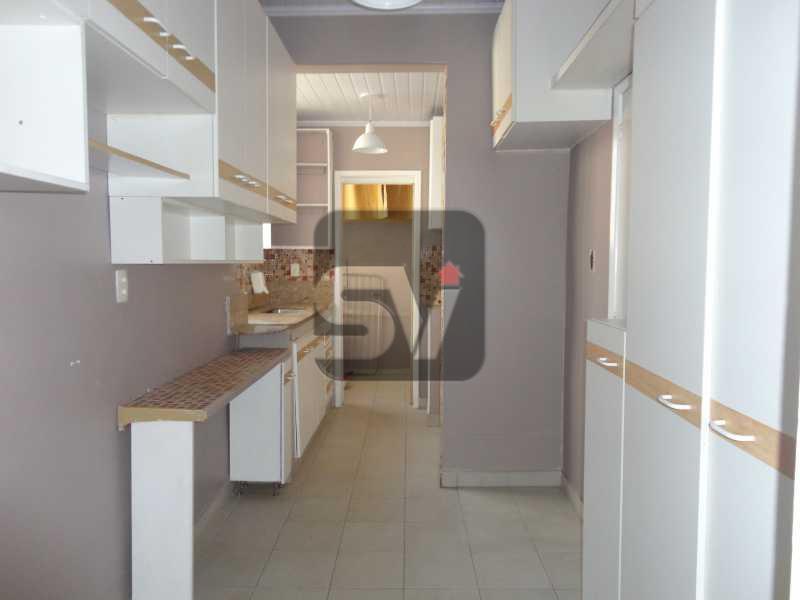 Cozinha - Silencioso. Rua tranquila. Catete. 3 quartos (suite e closet) - VIAP30210 - 16