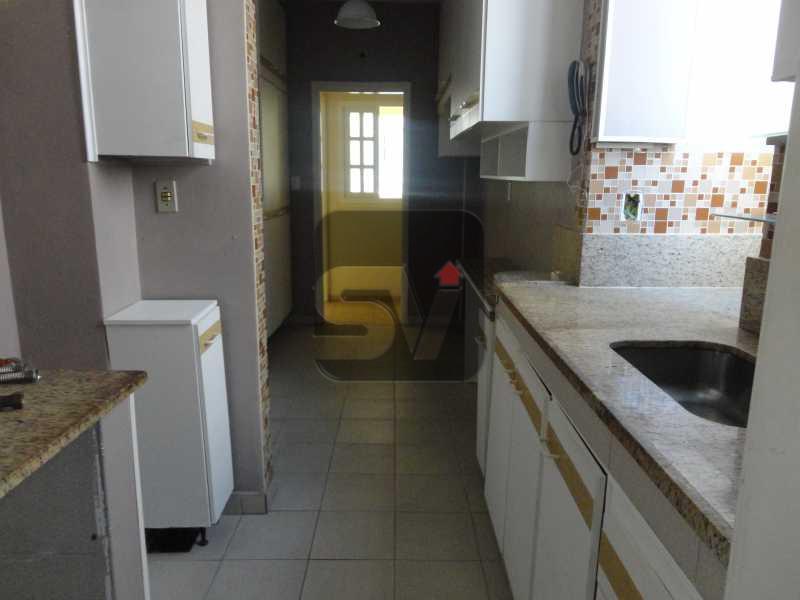 Cozinha - Silencioso. Rua tranquila. Catete. 3 quartos (suite e closet) - VIAP30210 - 18