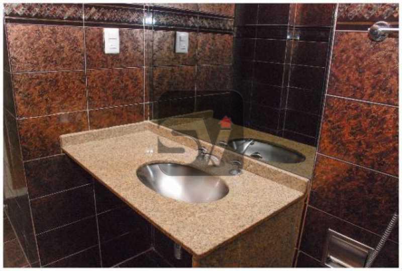 Banheiro social - Silencioso. Claro. Indevassado. 2 quartos - VIAP20239 - 5