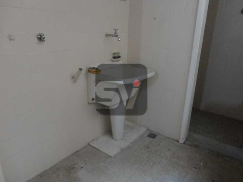 Área de Serviço - Apartamento 4 quartos para alugar Rio de Janeiro,RJ - R$ 3.600 - VIAP40050 - 16