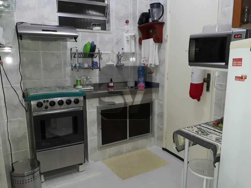 Cozinha - Mobiliado. Silencioso. Arejado. Catete. 2 quartos - VIAP20244 - 7