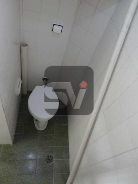 Banheiro de serviço - Silencioso. Excelente localização. Vaga. Botafogo. 3 quartos - VIAP30225 - 19