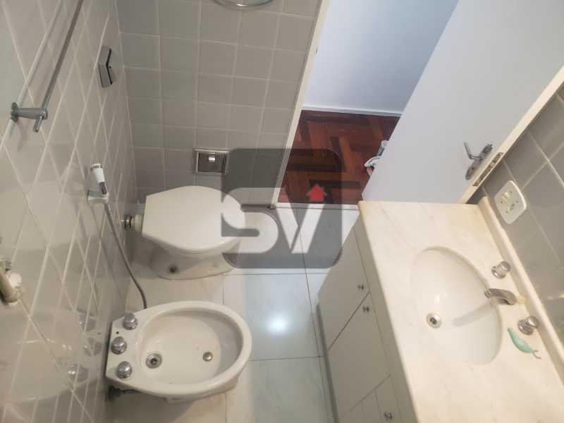 Banheiro Social 2 - Silencioso. Excelente localização. Vaga. Botafogo. 3 quartos - VIAP30225 - 6