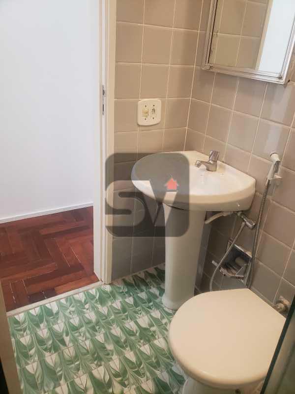 Banheiro Social 1 - Silencioso. Excelente localização. Vaga. Botafogo. 3 quartos - VIAP30225 - 5