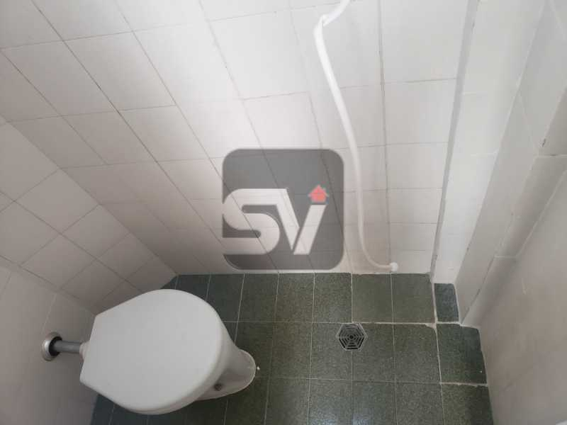 Banheiro de serviço - Silencioso. Excelente localização. Vaga. Botafogo. 3 quartos - VIAP30225 - 20