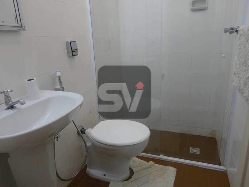 Banheiro social 1 - Apartamento Rio de Janeiro,zona sul,Leme,RJ À Venda,3 Quartos,103m² - VIAP30234 - 11