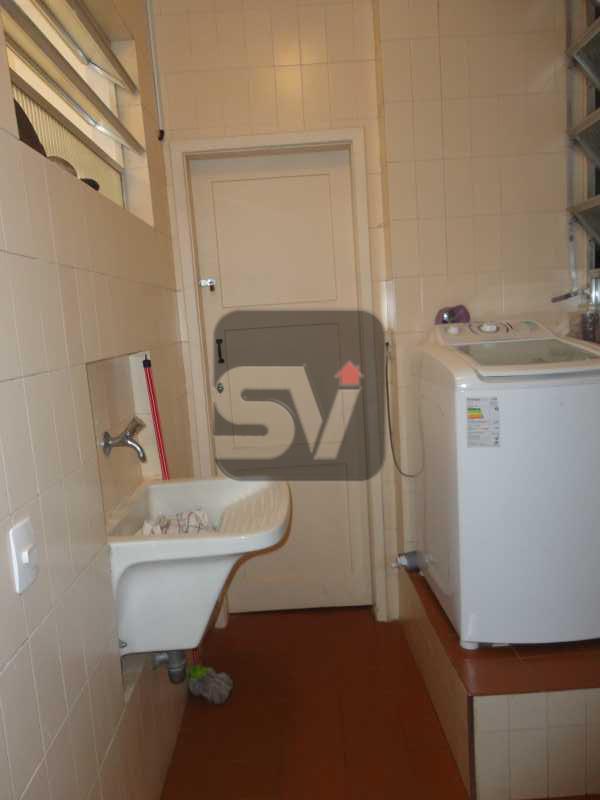 Área de serviço - Apartamento Rio de Janeiro,zona sul,Leme,RJ À Venda,3 Quartos,103m² - VIAP30234 - 16