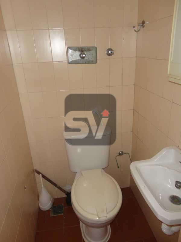 Banheiro de serviço - Apartamento Rio de Janeiro,zona sul,Leme,RJ À Venda,3 Quartos,103m² - VIAP30234 - 17