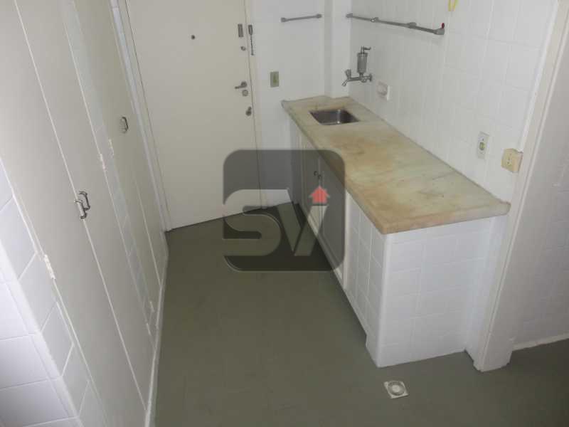 Cozinha - Silencioso. Amplo. VAGA. Laranjeiras. 3 quartos sintecados - VIAP30239 - 13