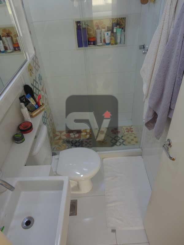 Banheiro/Suíte - Não perca esse imóvel impecável, 2 suítes, Glória. - VIAP20265 - 10