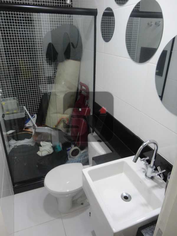 Banheiro/Suíte 2 - Não perca esse imóvel impecável, 2 suítes, Glória. - VIAP20265 - 12
