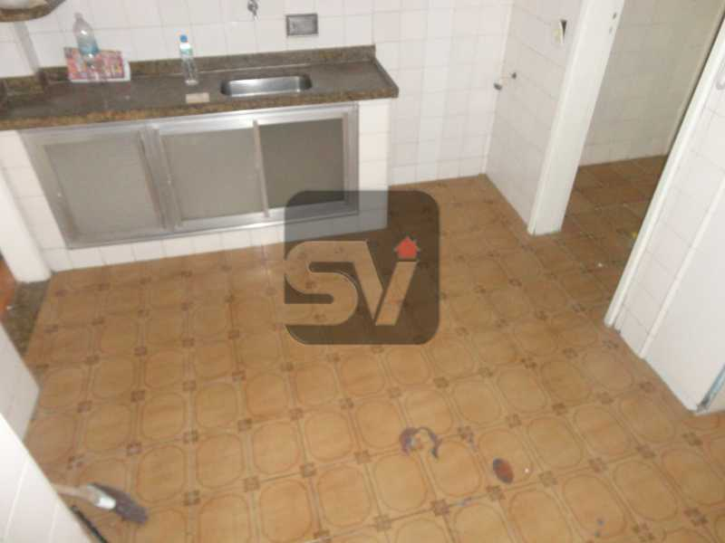 Cozinha - Apartamento Rio de Janeiro,zona sul,Flamengo,RJ Para Alugar,3 Quartos,110m² - VIAP30253 - 13