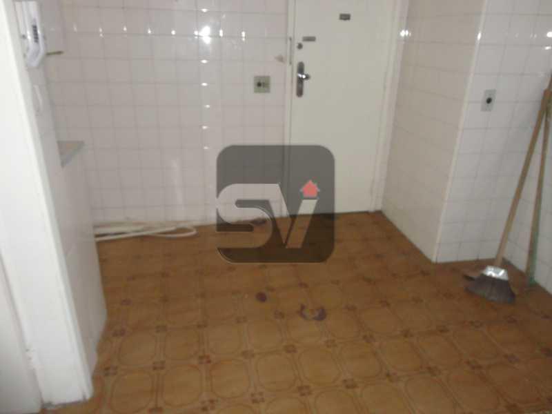 Cozinha - Apartamento Rio de Janeiro,zona sul,Flamengo,RJ Para Alugar,3 Quartos,110m² - VIAP30253 - 14