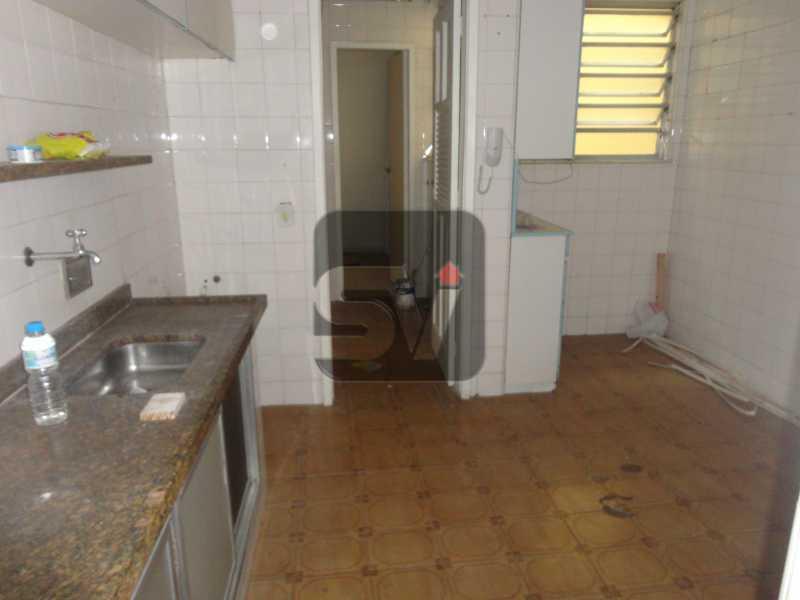 Cozinha - Apartamento Rio de Janeiro,zona sul,Flamengo,RJ Para Alugar,3 Quartos,110m² - VIAP30253 - 15